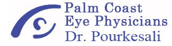 Logo Palm Coast Eye Physicians Dr. Pourkesali